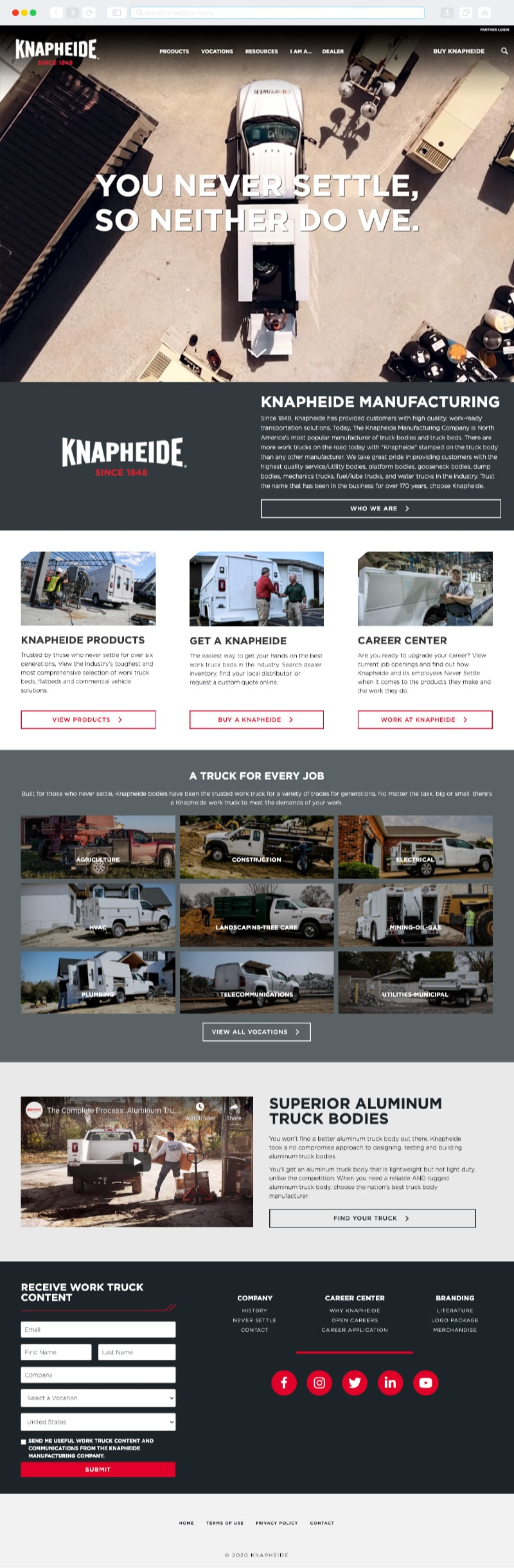Knapheide Homepage | Vervocity
