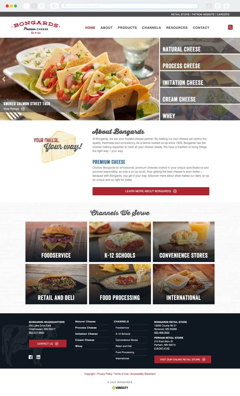 Bongards Homepage | Vervocity