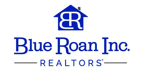 Blue Roan Inc Realtors Logo Vertical | Vervocity