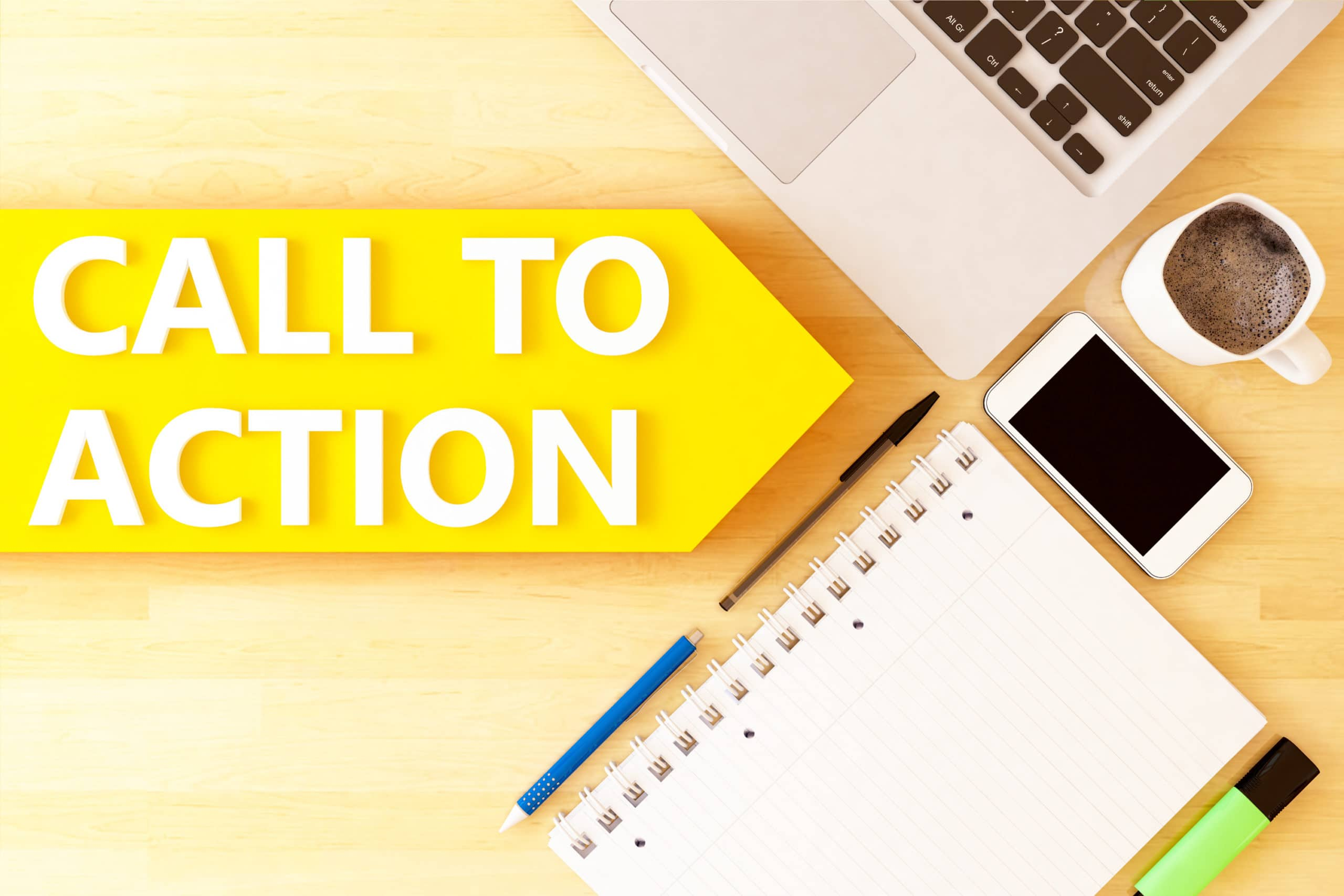 Your website needs a call-to-action