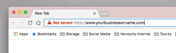 Going without SSL will come back to bite you