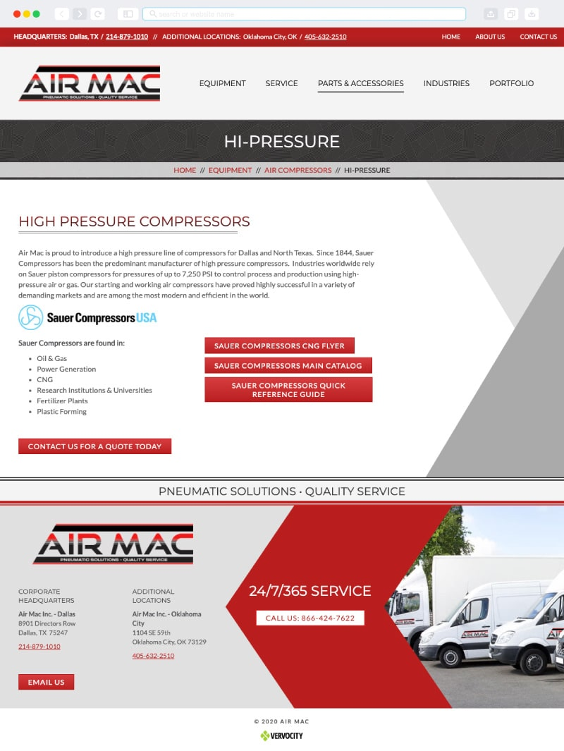 Air Mac Interior Page | Vervocity