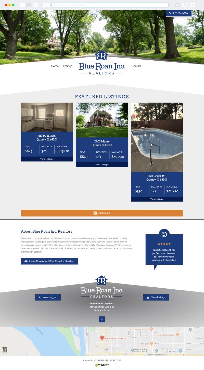 Blue Roan, Inc Realtors Homepage | Vervocity