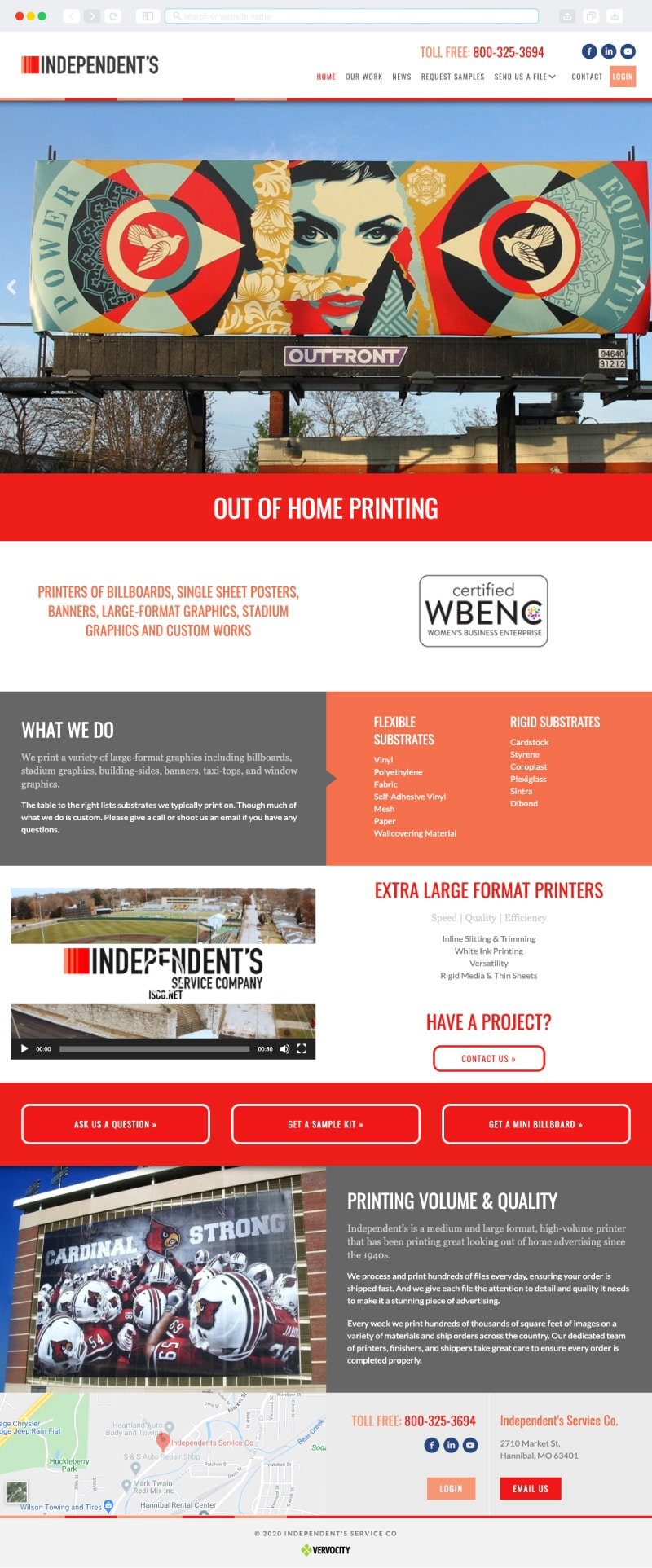 ISCO Homepage | Vervocity