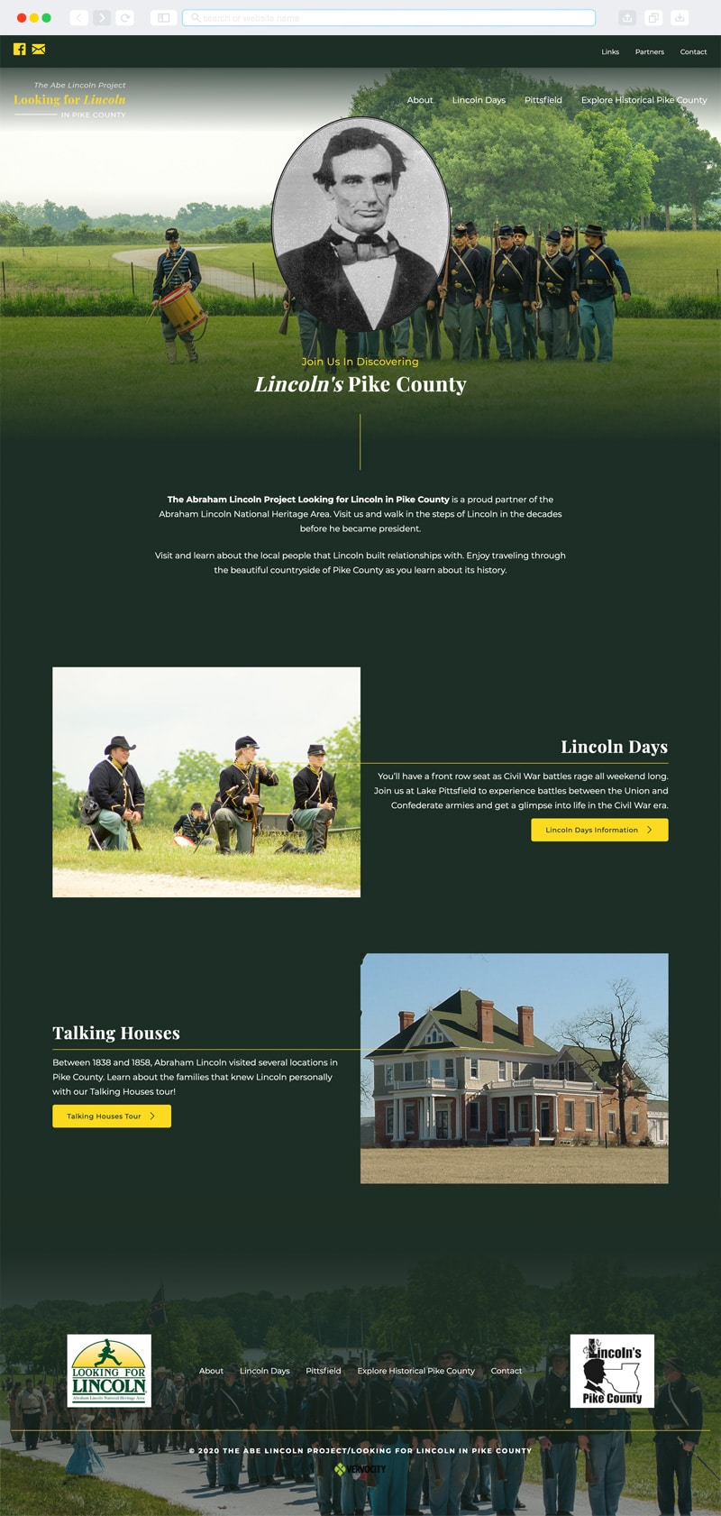 The Abe Lincoln Project Homepage | Vervocity