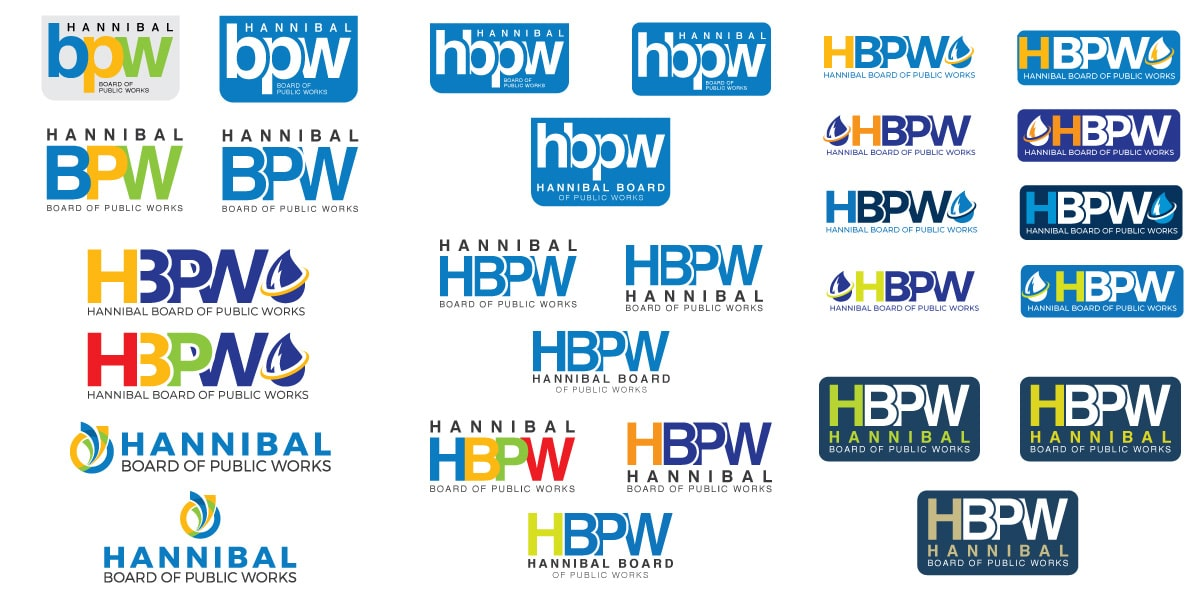 Hannibal Board of Public Works - Logo Development