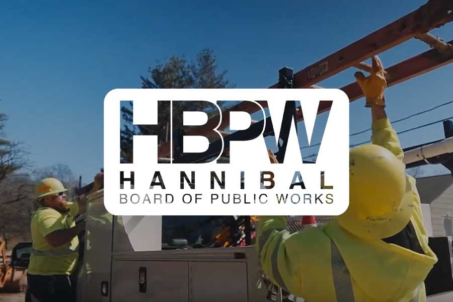 Hannibal Board of Public Works Logo