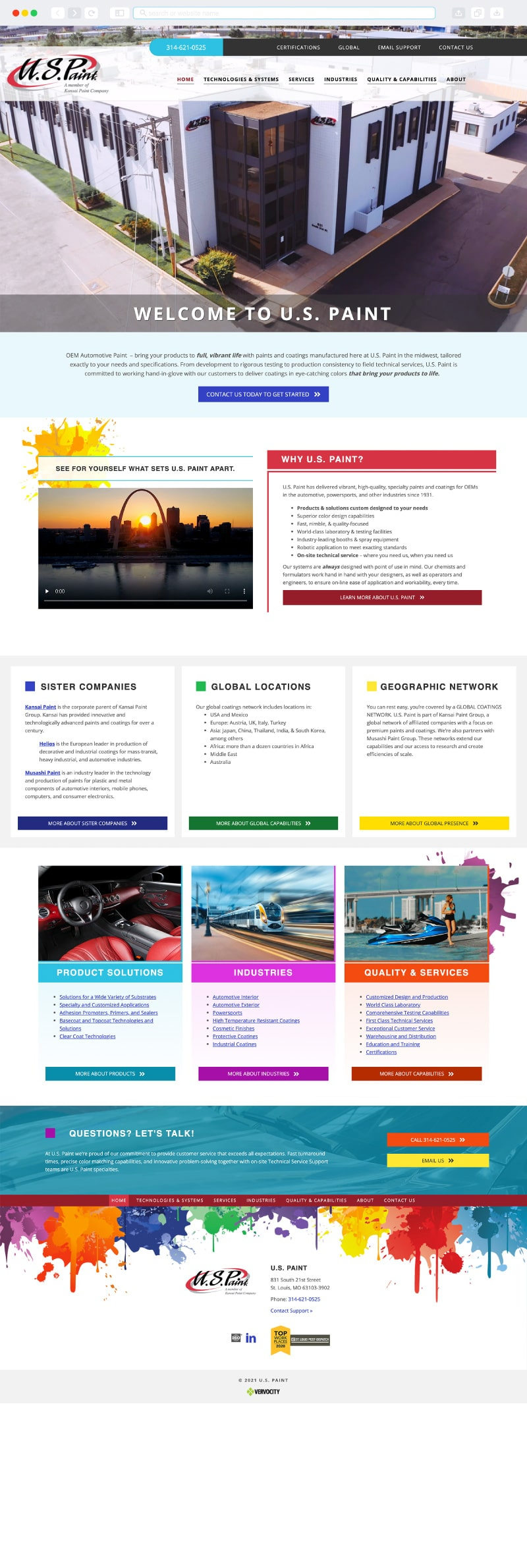 U.S. Paint Homepage