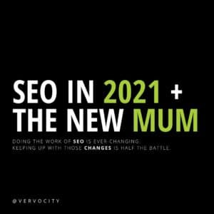 SEO In 2021 + The New MUM by Vervocity
